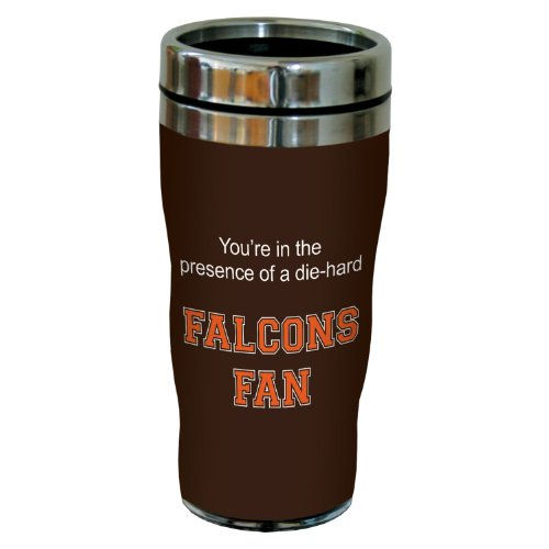 Tree-Free Greetings sg24394 Falcons College Football Fan Sip 'N Go Stainless Steel Lined Travel Tumbler, 16-Ounce by Tree-Free Greetings (Image #2)