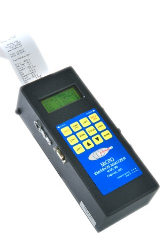 Enerac 500-1-O2 Series 500-1 Handheld Combustion Efficiency Emissions Analyzer with O2 Sensor