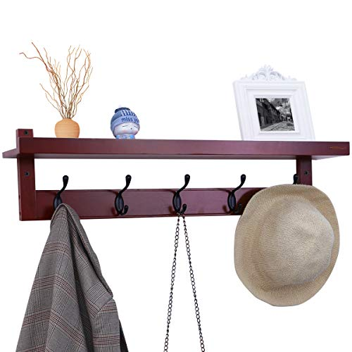 hook rack with shelf - 5