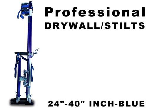 new-aluminum-drywall-stilts-tool-stilt-for-painting-painter-24-40-inch-blue