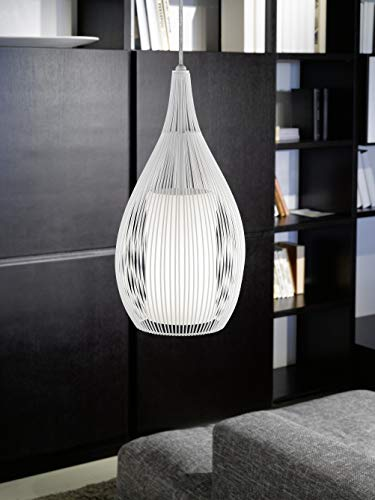 60 De Lámparablanco Razoni Iluminación Eglo E27 W Techo Blanco CxoedrBW