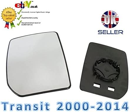 aftermarket X355-1 Wing Mirror Glass Passenger Left N//S