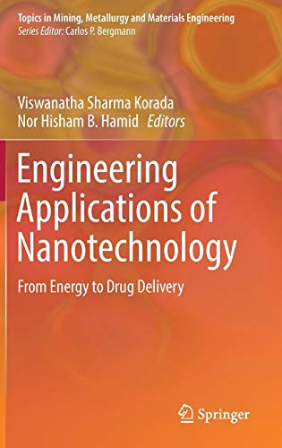 Engineering Applications of Nanotechnology: From Energy to Drug Delivery (Topics in Mining, Metallurgy and Materials Engineering)