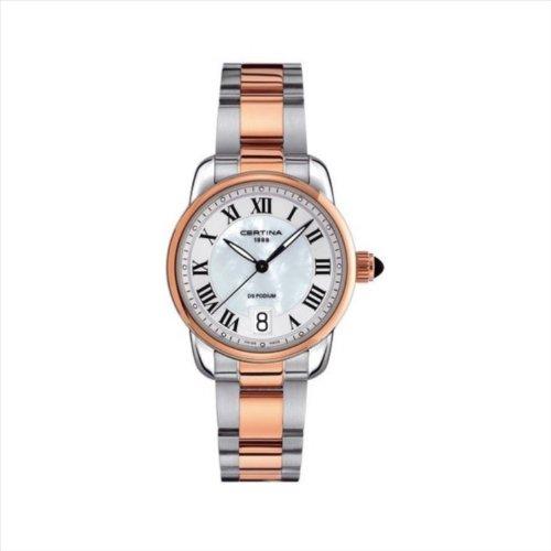 reloj certina mujer acero