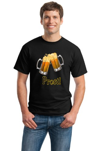 PROST! GERMAN BEER Unisex T-shirt / Deutsches Bier Lover Drinking Tee