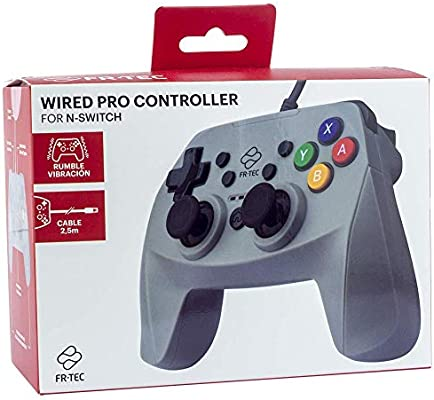 FR·TEC - Mando Pro Controller con cable - Nintendo Switch: Amazon ...