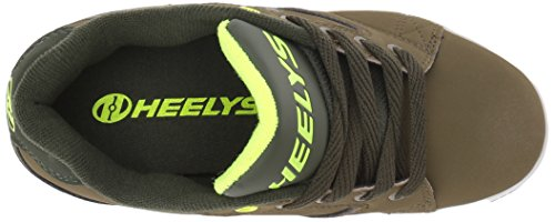 0 Olive Heelys 2 Sneaker Green Propel Bright Yellow Dark Men's OBqZWgB