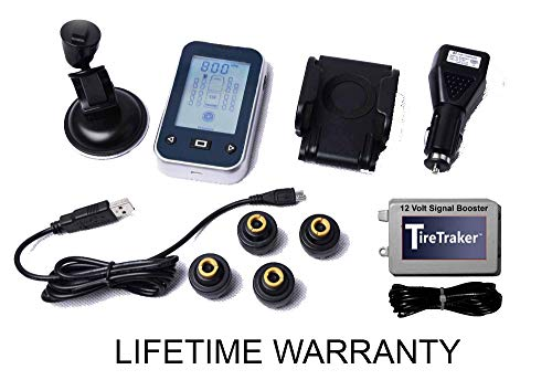 TireTraker TT-500/4 Wheel Tire Monitoring System