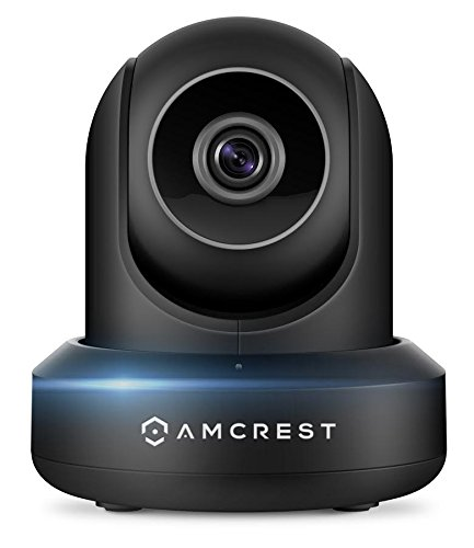 Amcrest UltraHD 2K (3MP/2304TVL) WiFi Video Security IP Camera with Pan/Tilt, Dual Band 5ghz/2.4ghz, Two-Way Audio, 3-Megapixel @ 20FPS, Wide 90° Viewing Angle and Night Vision IP3M-941 (Charcoal)