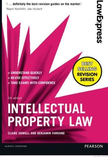 R.e.a.d Intellectual Property Law: Uk Edition (Law Express) TXT