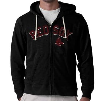 47 Brand MLB - Chaqueta con capucha para hombre, diseño de los Boston Red
