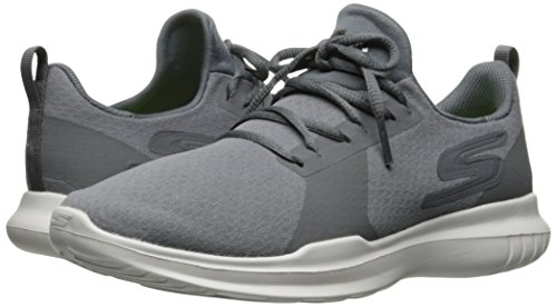 Skechers Performance Women's Go Run-Mojo Running Shoe,Charcoal,7.5 M US by Skechers (Image #6)