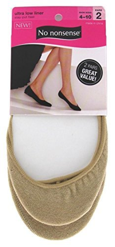Ultra Low Liner Sock/Nude (Pack of 20)