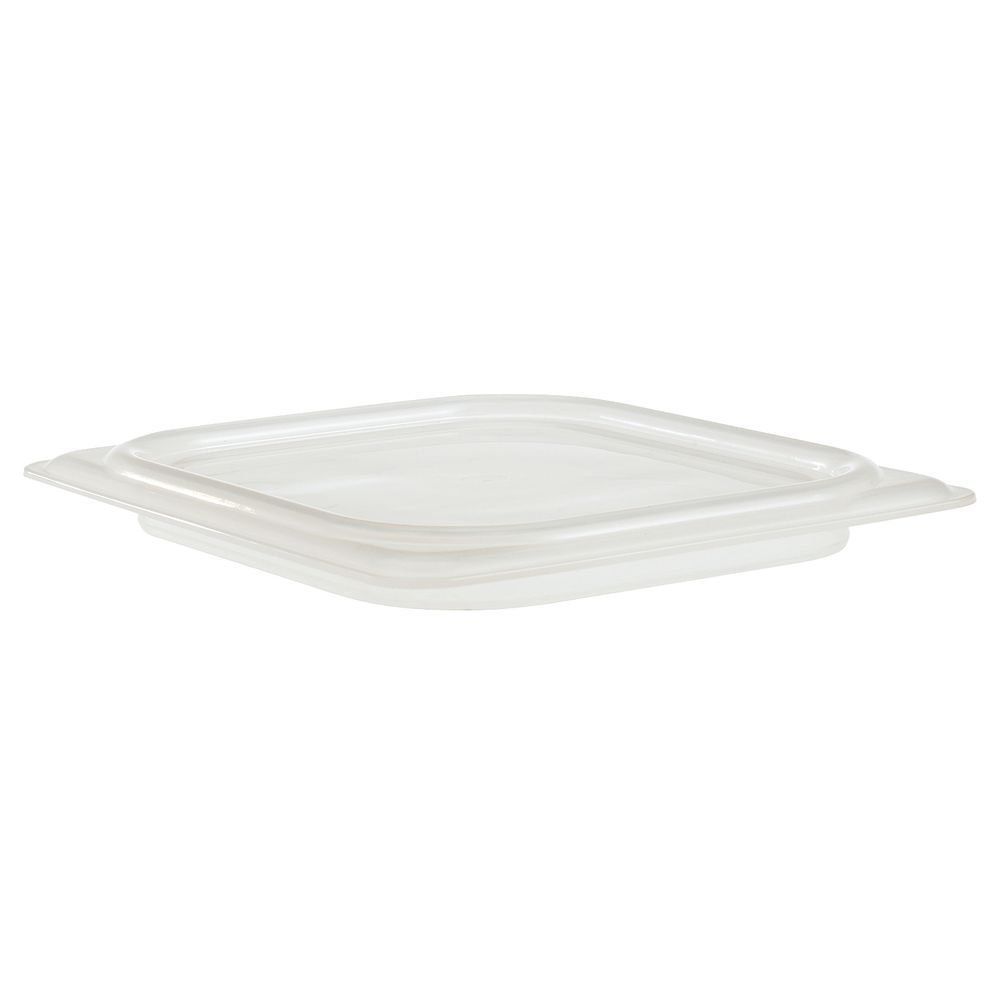 Cambro 1/6 Size Translucent Polypropylene Seal Cover for Food Pan