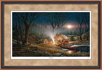 Campfire Tales Framed Limited Edition Print by Terry Redlin