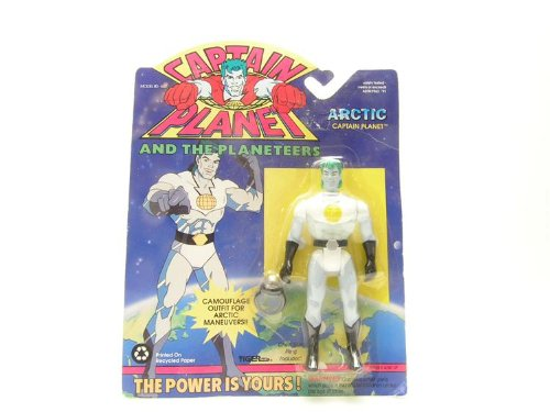 - Captain Planet Arctic Action Tiger Toys 1991