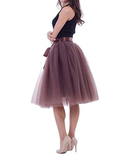 Rockabilly varies Caf en Femme Pettiskirt couleurs courte Jupe Jupon tulle tutu g7v5qAZv