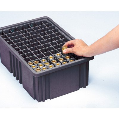 Conductive Dividable Grid Storage Container Long Dividers for DG93080CO [Set of 6] ()