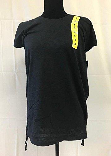 Speedo Ladies' Hooded Swim Cover Up with Adjustable Length (Black, Medium)