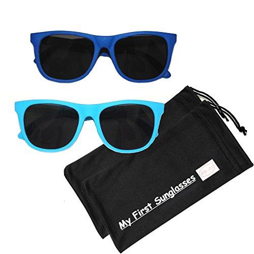 MFS-Wayfarer-110mm-Navy Blue and Light Blue - 2 - Sunglasses Right Face My For