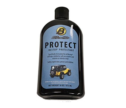 Bestop 11202-00 Vinyl Protectant, 16 oz. bottle -