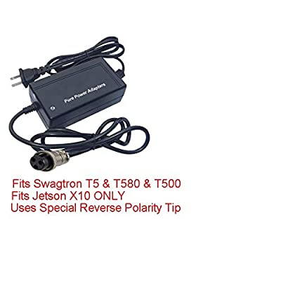 PPA Charger for HVR Board Only Has Auto shutoff Swagtron T500 : Sports & Outdoors