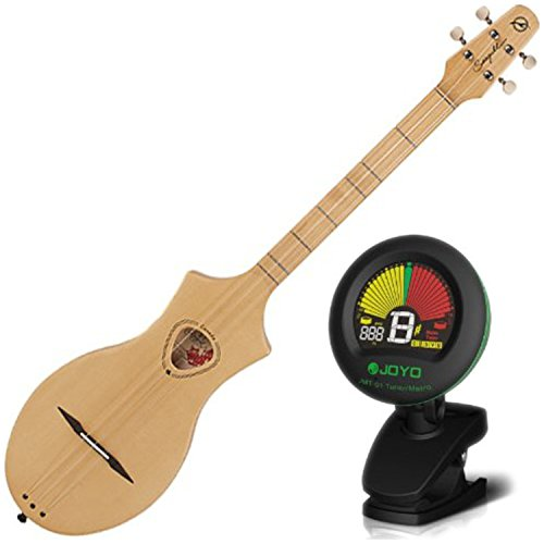 Seagull 039227 Merlin Natural Spruce Dulcimer Guitar w/ Tuner by Seagull