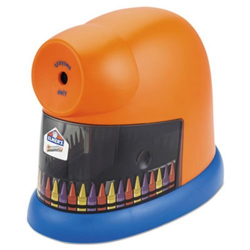 EPI1680 - Elmer's CrayonPro Electric Crayon Sharpener with Replacable Blade by Elmer's (Image #1)