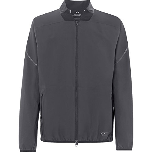 Velocity Jacket (Oakley Men's Velocity Storm Shell, Blackout, XL)