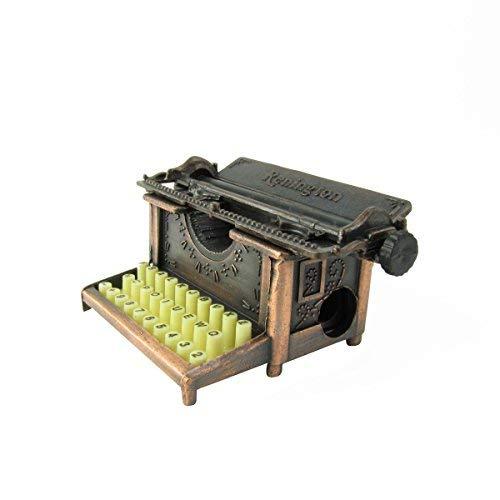 Miniature Antique Typewriter Die Castl Pencil Sharpener