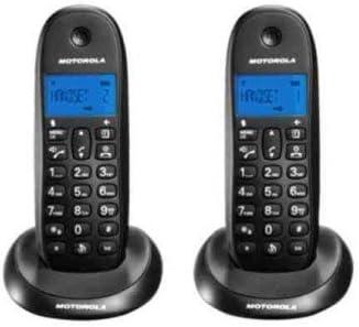 Teléfono inalámbrico MOTOROLA CLASSIC C1002LB+ DUO: Amazon.es: Electrónica