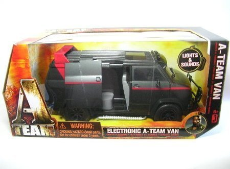 ATeam 2010 Movie 15 Inch Electronic Vehicle Classic Van by ()