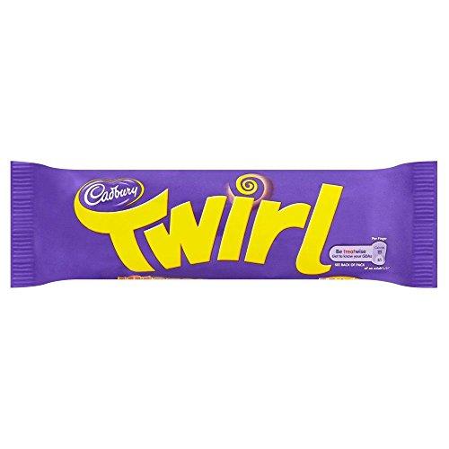 Cadburys Twirl - 43g - Pack of 12 (43g x 12 Bars) (Twirl Chocolate)