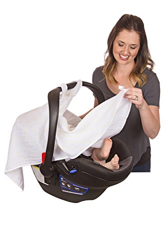 Baby Car Seat Cover for Your Infant or Baby. Infant Car Seat Canopy by Summer Snuggles Will Keep Your Baby Happy and Smiling