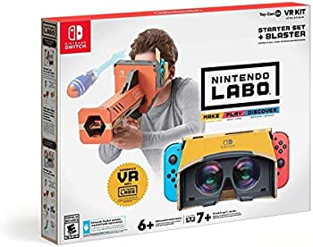 Nintendo Labo Toy-Con 04: VR Kit with Starter Set & Blaster