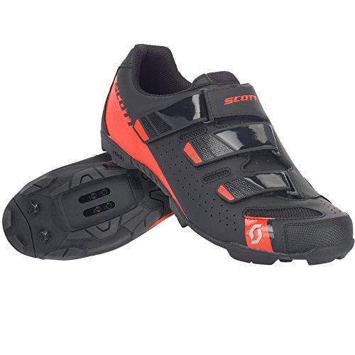 Chaussures Comp Noir Vélo Vtt rouge Scott Rs 2018 1dqnfII