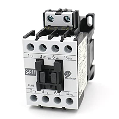 Baomain Shihlin Electric Magnetic Contactor S-P11 3A1b Coil: 110V UL & CSA listed