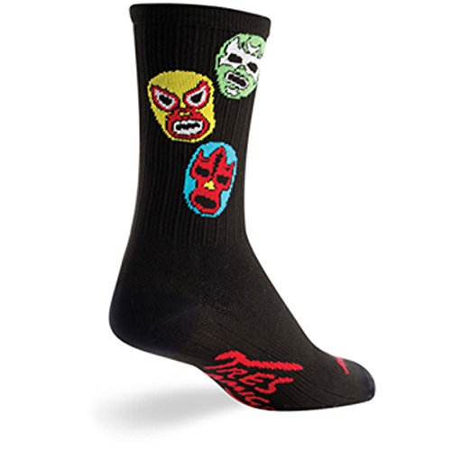 SockGuy Unisex-Adults 3 Amigos, Black, (Sock Guy Running Socks)