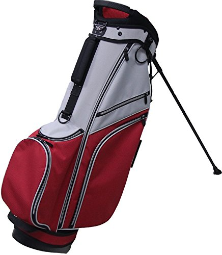 rj-sports-sb-595-deluxe-stand-bag-9-grey-red