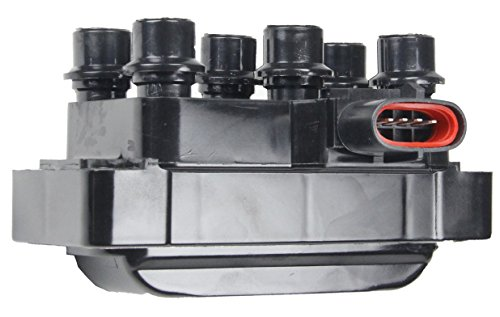 Ignition Coil for Ford Mazda Mercury V6 2.5L 3.0L 3.2L 4.0L Compatible with C925 (Mazda 626 Ignition Coil)