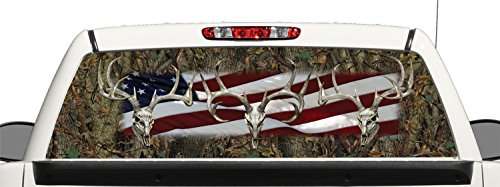 Compare Price To Truck Rear Window Graphics Deer