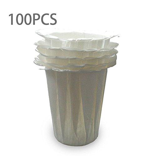 Logicstring - Tazas de papel de filtro desechables para cafetera ...