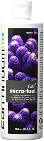 Continuum Aquatics Reef MicroFuel – Organic Carbon Source for Accelerated Bacterial Growth in Live Coral & Marine Reef Aquariums