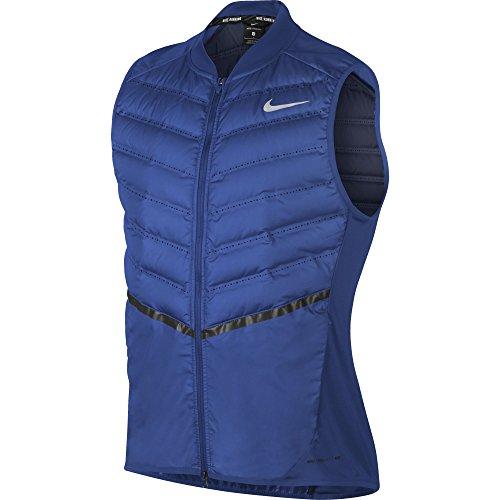 Nike AeroLoft Men's Running Vest (Large, Game Royal/Midnight Navy) by Nike