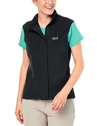 Jack Wolfskin Women's Activate Vest, Black, X-Small ()