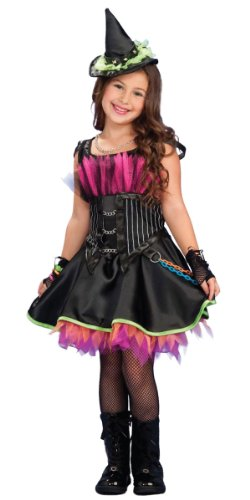 Rockin Witch Halloween Costume (Rockin' Out Witch Costume - Large)
