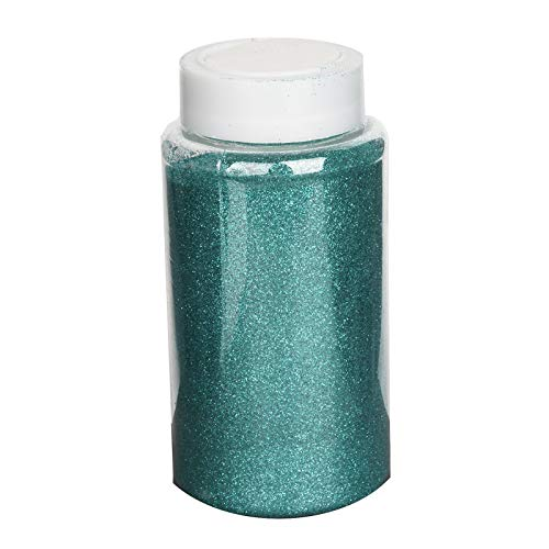 Efavormart 1 Pound Aqua DIY Art & Craft Glitter Extra Fine with Shaker Bottle for Wedding Party Event Table Centerpieces Decor