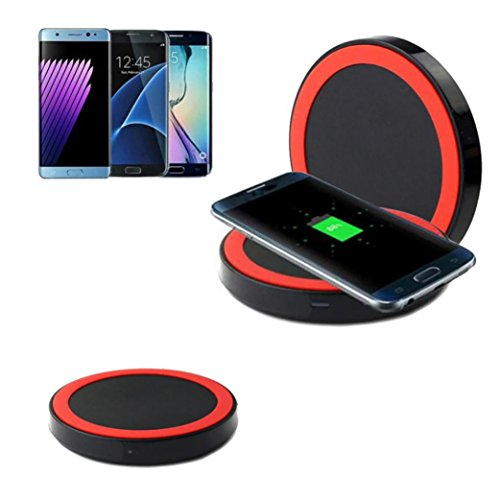 quick-acting charging ,Livoty Qi Wireless Power Charger Charging Pad For Samsung Galaxy S8/S8 Plus/for Samsung Galaxy S7/S7 Edge/Samsung Galaxy S6 /