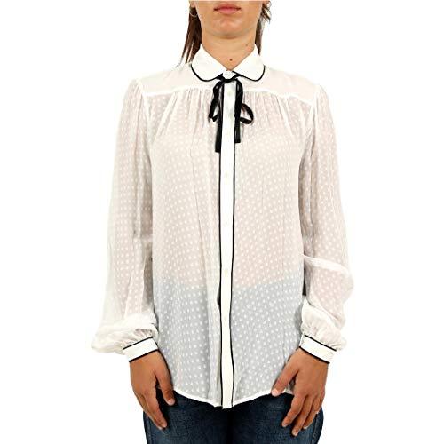 Donna 211704846 In Camicia Fiocco Mod Lauren Seta Polo Con Ralph xzpqUTnw0