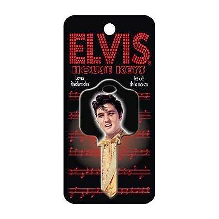 Elvis traje dorado Schlage SC1 llave de la casa: Amazon.es: Hogar